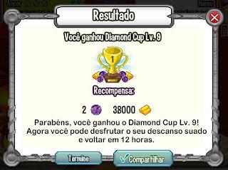 Atualização no Torneio do Dragon City