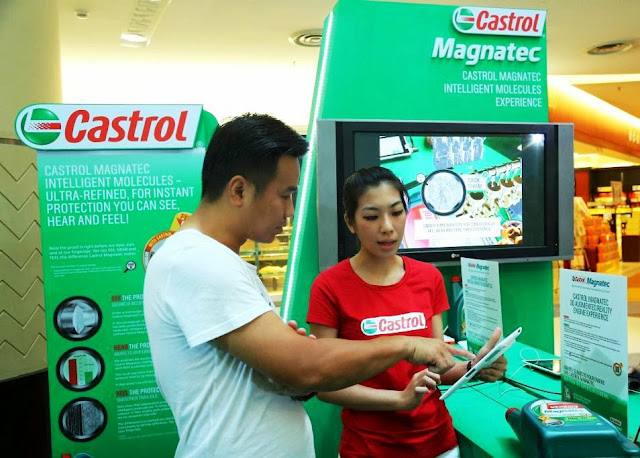 Castrol Magnetec, be a cling hero, Instant Protection Family Zone,