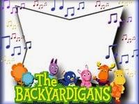 moldura musica backyardigans