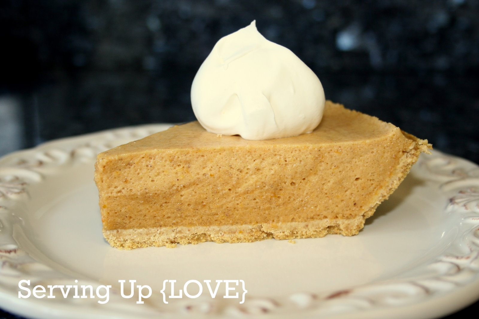 Katherine's Kitchen: Serving Up {Pie}: Pumpkin Chiffon Pie