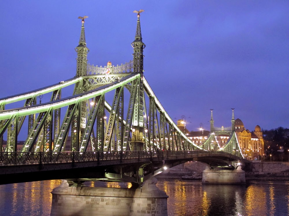 Beautiful Budapest bridge