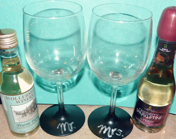 Chalkboard Wine Glasses World Market