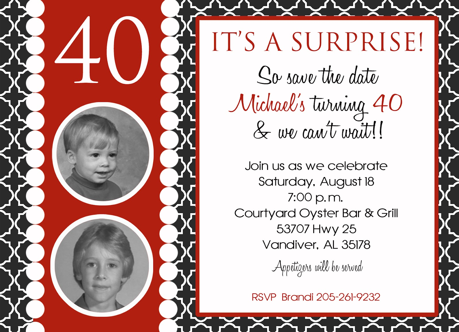 Say It Sassy: Adult Birthday Invitations