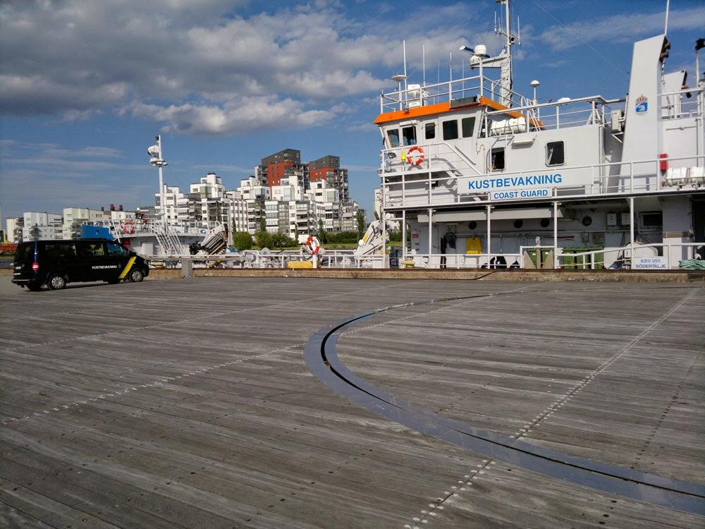 Coastguard eller kustbevakningen som vi säger i Sverige.
