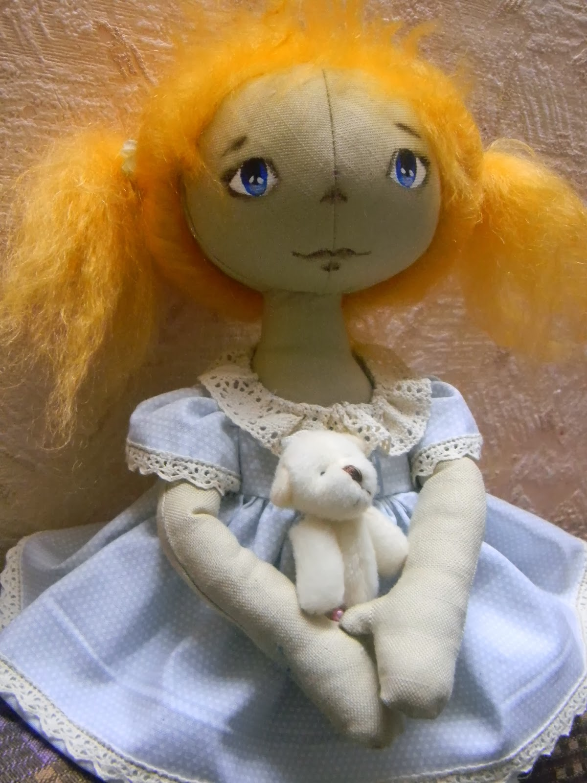 Куклы тыквоголовки с