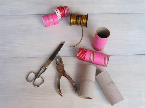 Materiales para crear mini coronas