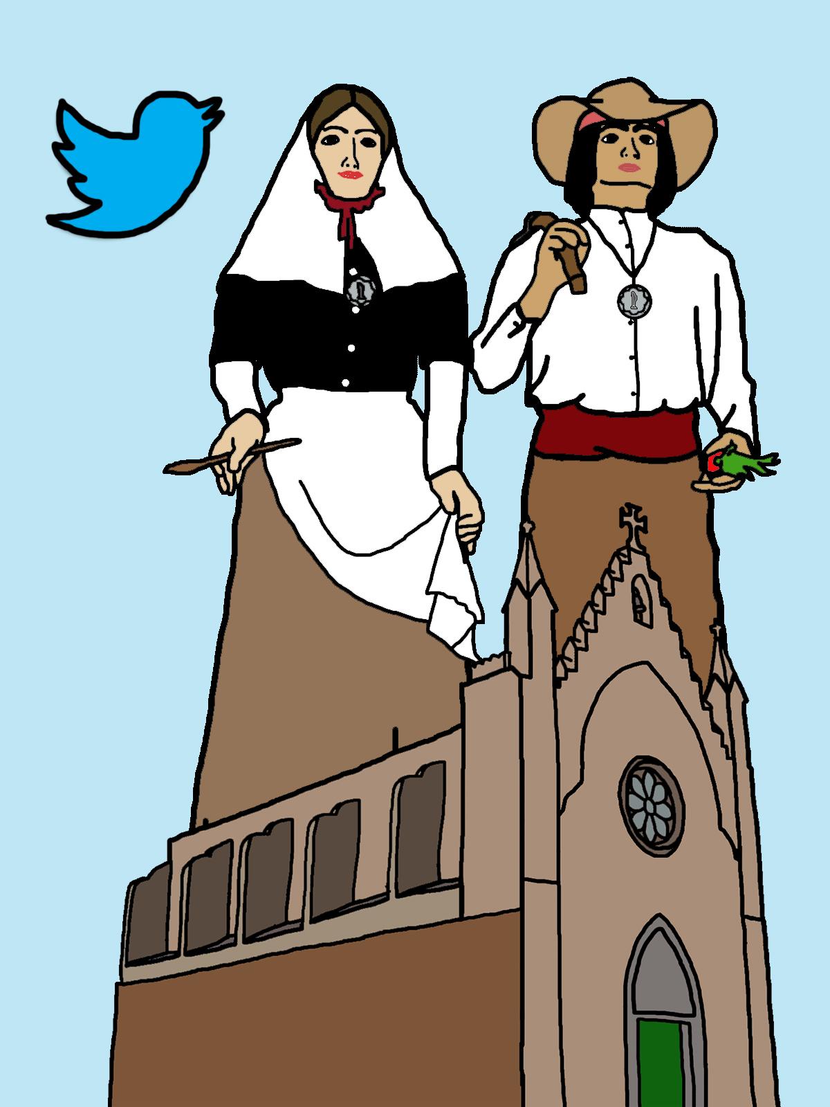 Twitter Gegants de Llucmaçanes