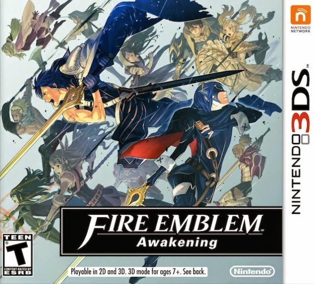 3DS Fire Emblem Awakening Cover