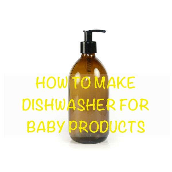 HANDMADE BABY DISHWASHER MALAYSIA