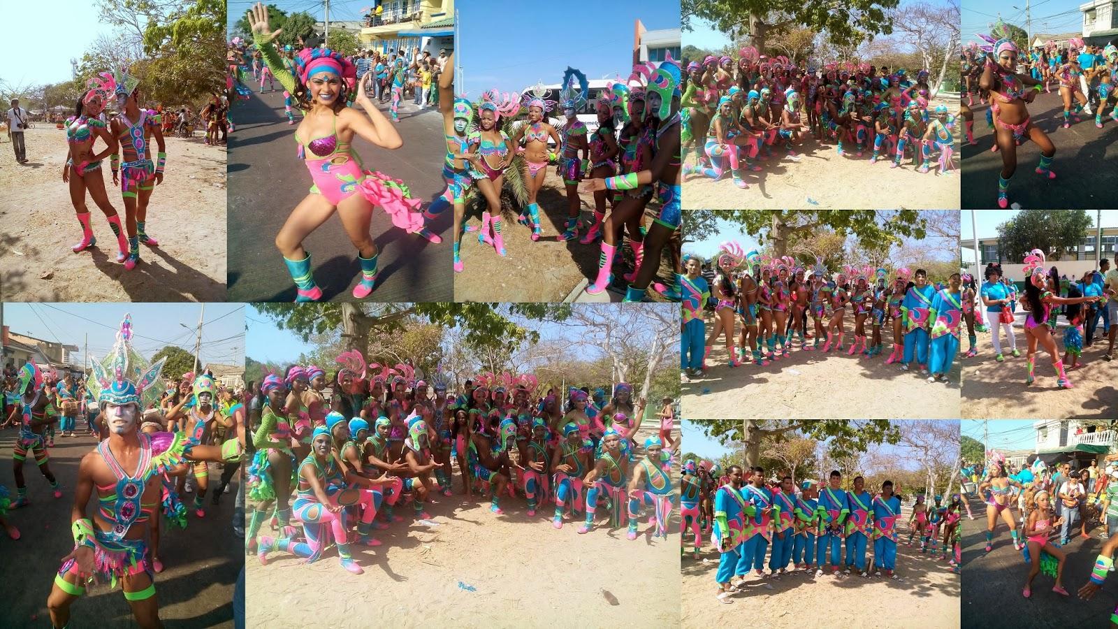 Danzas participantes en el Carnaval de Barranquilla. www.docenteinem.org