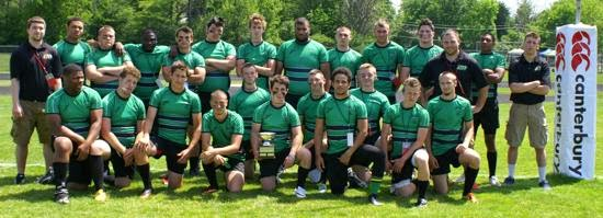 A group photo of the Toledo Junior Celtics team. (Credit: Rugby Ohio)
