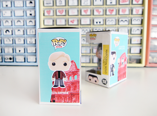 custom funko box man from uncle