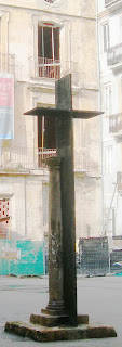 La columna de la creu