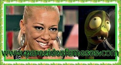 Belén Esteban y gusano