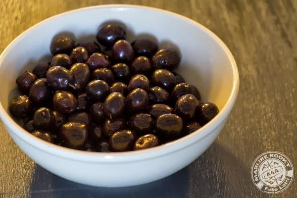 zwarte olijven van Nyons