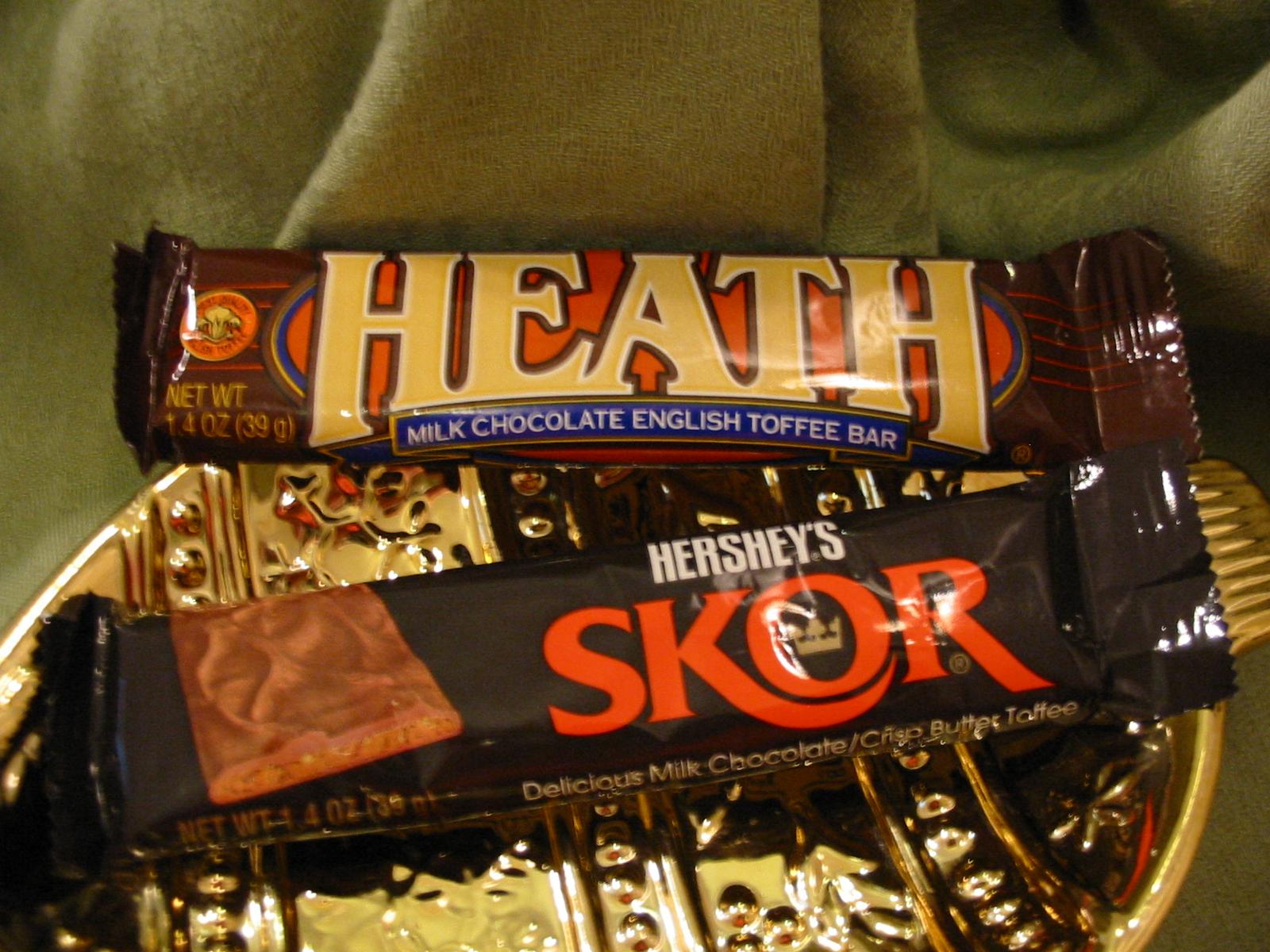 The Chocolate Cult: Heath vs. Skor
