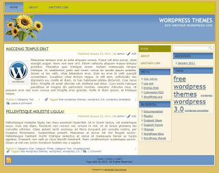 business or blog wordpress themes