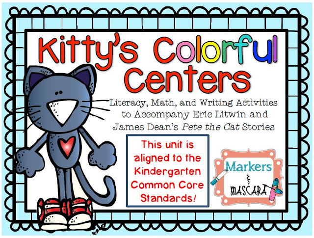 https://www.teacherspayteachers.com/Product/Kittys-Colorful-Centers-Pete-the-Cat-1328401
