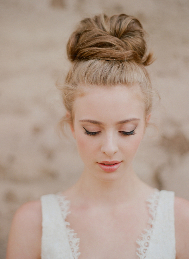 ... Messina // Hair & Makeup: Erin Skipley // via: Wedding Chicks