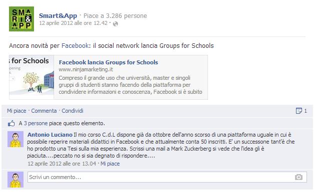 commento facebook smartaandapp
