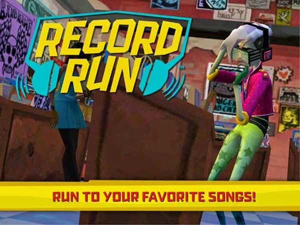 Record Run, un juego musical que utiliza sus propias canciones