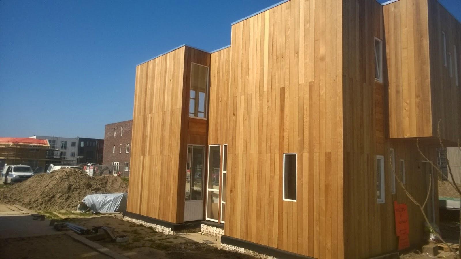 Moderne woning in nijmegen is klaar ik wonen hout for Huis nijmegen