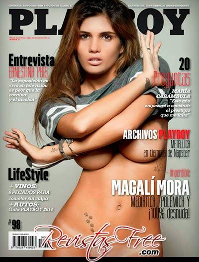 Magali Mora - Playboy Argentina - Março 2014