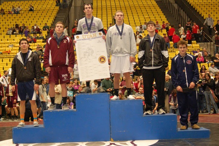 Justin Cottle 5th place State 152 lbs