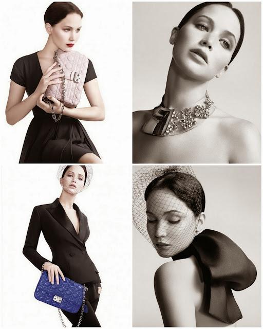 Jennifer Lawrence para Miss Dior