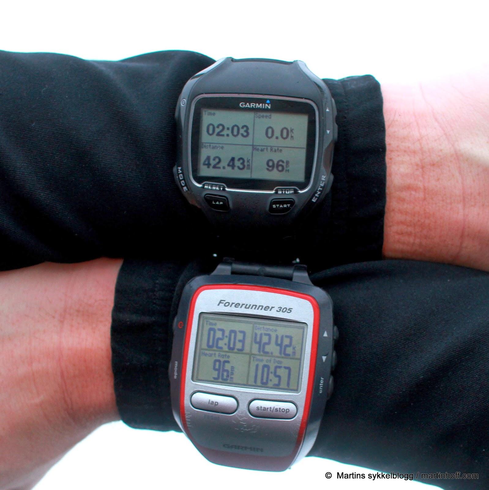 -- Martins Sykkelblogg --: Garmin Forerunner 910XT - fortsatt et godt kjøp!