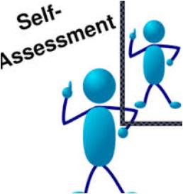proses pengamatan/penilaian sikap dalam penilaian otentik Penilaian-diri (self assessment Penilaian antar teman