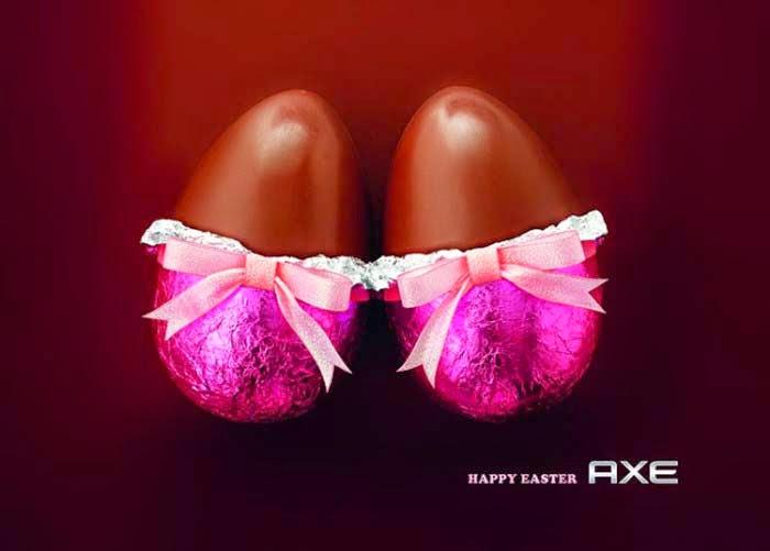 Publicidad Creativa, Pascua, Axe