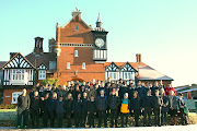 School Photo December 2012. Here is a photo of the students and some staff . (schoolphotodec )