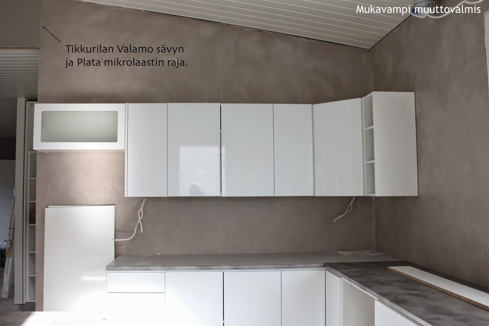 Keittiön välitila mikrosementti – Koti ja villieläinten