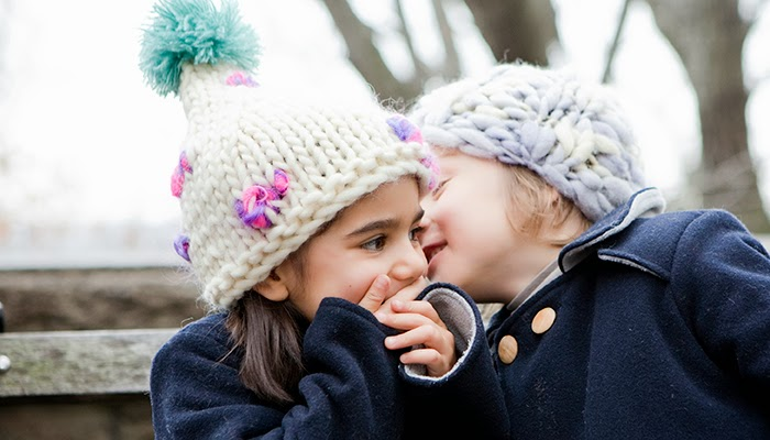 children's winter hats in chunky knits by HBB Industria Argentina