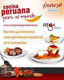 Campa a 39 39 cocina peruana para el mundo 39 39 registra m s de for Cocina peruana de vanguardia