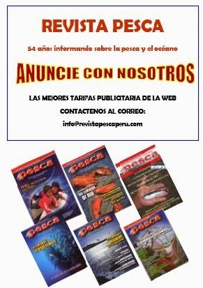 Anuncie en la Revista Pesca