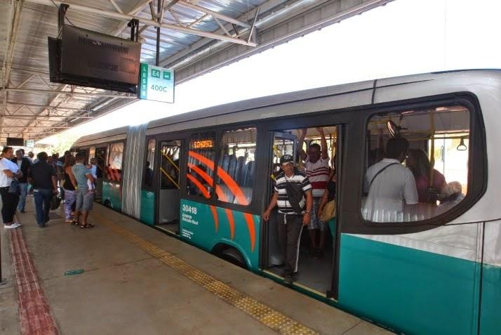 Passagem passará de 3,50 para 3,95 a partir desta Segunda-feira em Santa Luzia