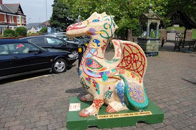 Gwynllyw dragon by Deborah Wheeler