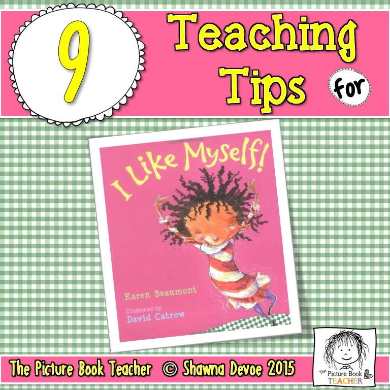 I Like Myself Worksheets : The picture book teacher s edition i like myself by karen