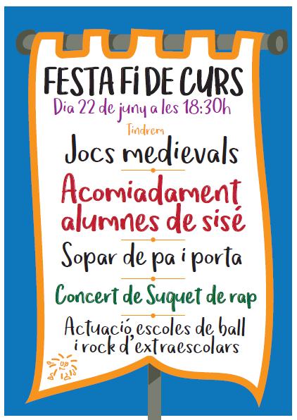 FESTA FI DE CURS 2018