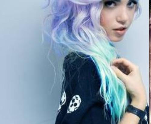 Jenjen Ausgefallene Haarfarben