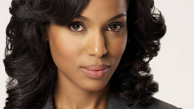 kerry washington scandal olivia pope maquillage ultra nude - True Colors Maquillage
