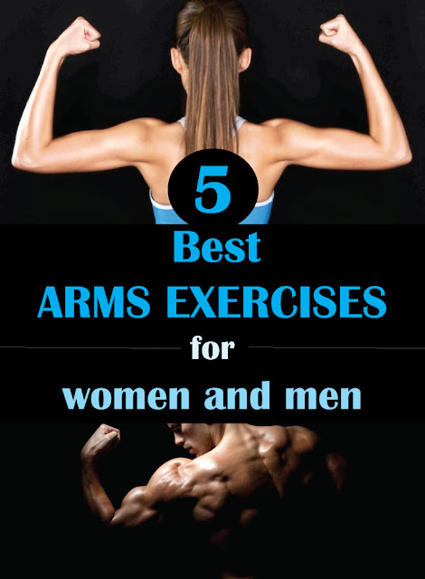 5 Best ARMS EXERCISES for women and men