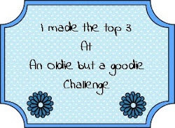 Made it to Top 3 at Oldie but A goodie challenge! :-)..
