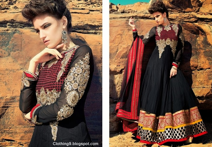 Akbar Pakistan Party Dresses