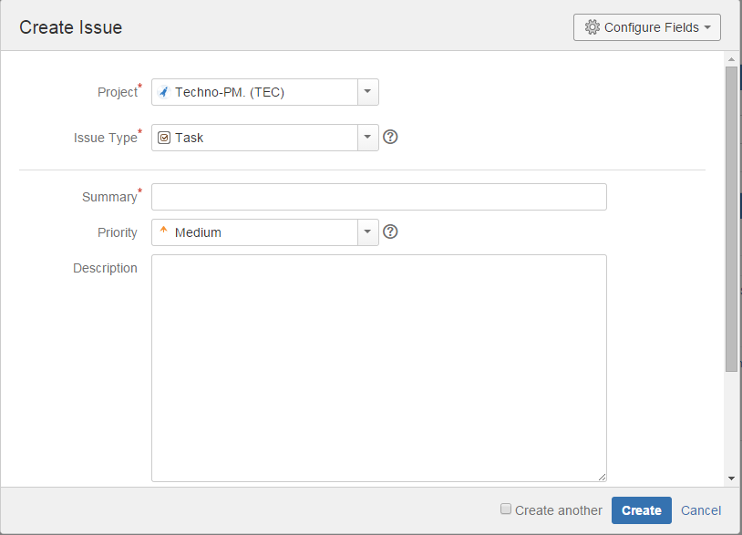 JIRA Project Management