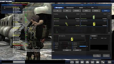 Version 4.0 Rho Point Blank Fitur VVIP Gratis WP Smoke Kiler + Wallshot New Suiced Mode For GB