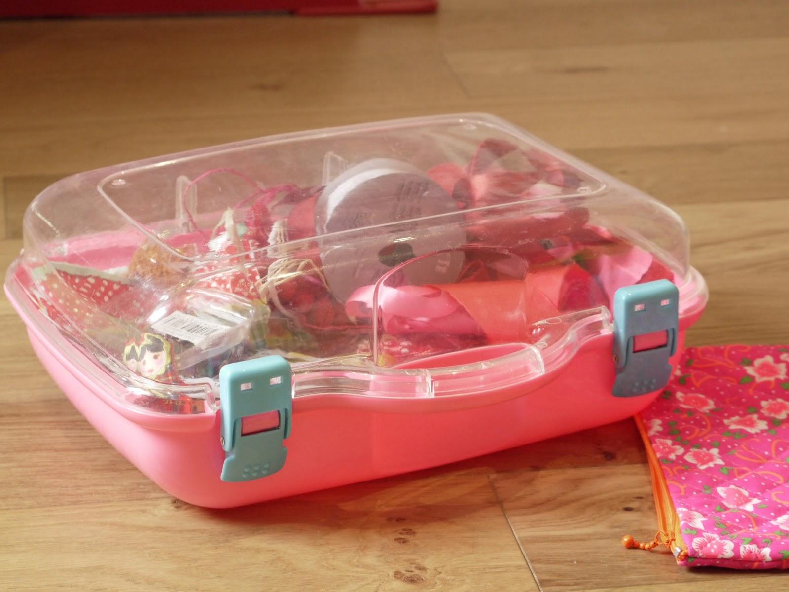 valise rose girly