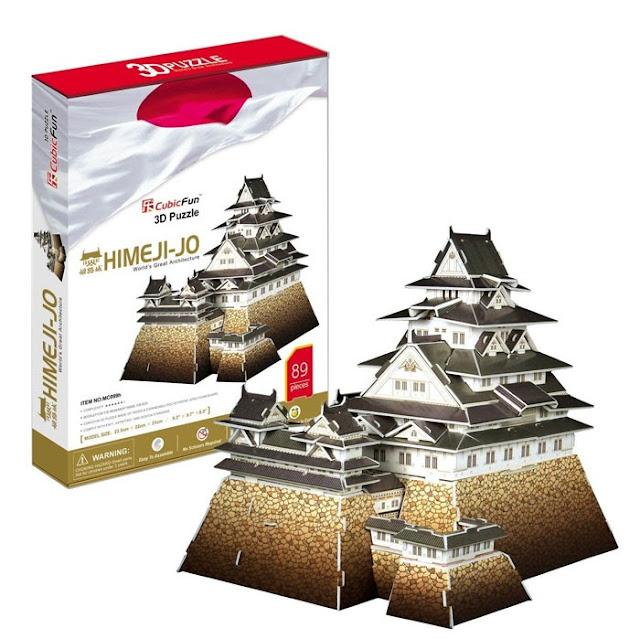 3Д пазл Японский замок Химедзи